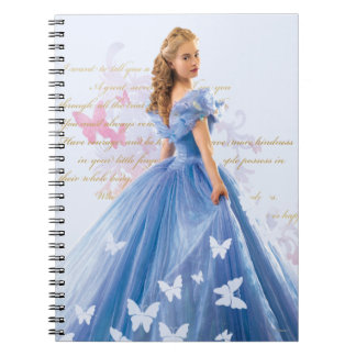 Cinderella Photo With Letter Spiral Notebooks