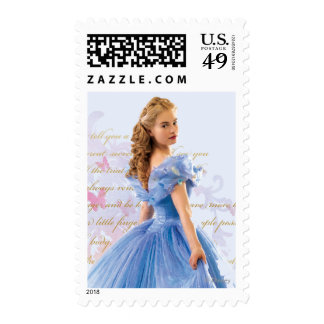 Cinderella Photo With Letter Postage Stamps