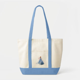 Cinderella Photo With Letter Tote Bag