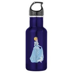 Water Bottle (24 oz) with Starry Night Princess Cinderella design