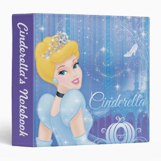 Cinderella Princess 3 Ring Binder