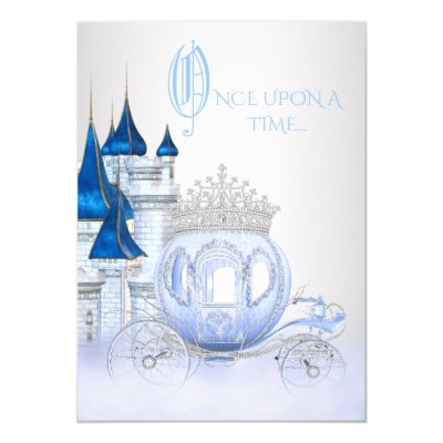 Once Upon a Time Princess 1st Birthday Card – Cinderella Birthday Card