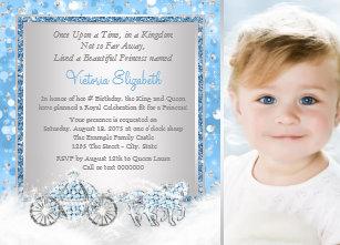 Cinderella invitations zazzle cinderella princess birthday party invitation filmwisefo