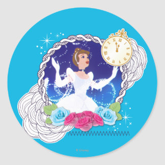 Cinderella - Princess Cinderella Classic Round Sticker