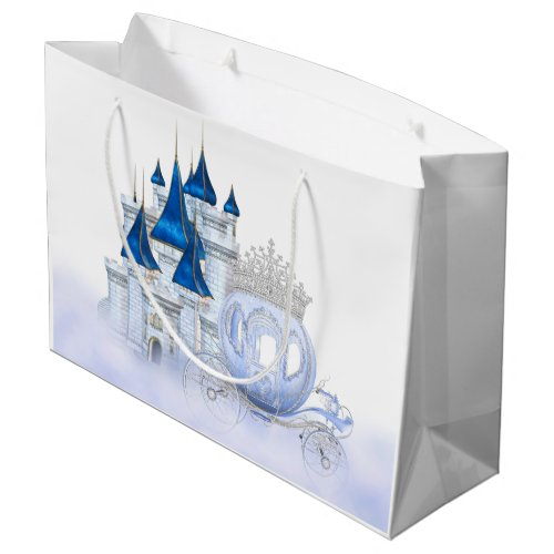 Cinderella Princess Girls Birthday Large Gift Bag