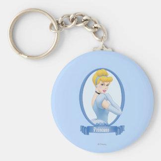 Cinderella Princess Keychain
