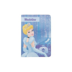 Passport Holder with Starry Night Princess Cinderella design