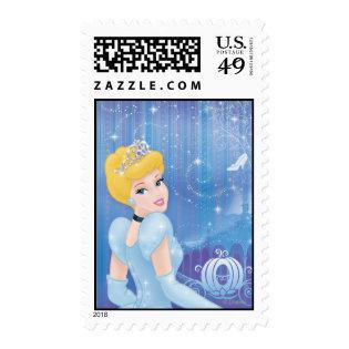Cinderella Princess Postage Stamp