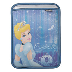 iPad Sleeve with Starry Night Princess Cinderella design