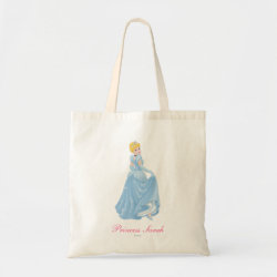 Budget Tote with Starry Night Princess Cinderella design