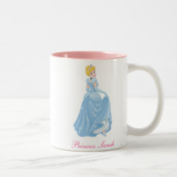Two-Tone Mug with Starry Night Princess Cinderella design