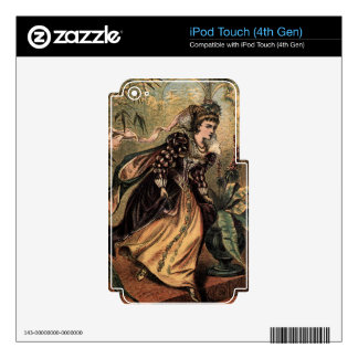 Cinderella Running Away from the Ball iPod Touch 4G Skin
