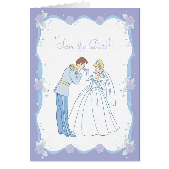 Cinderella Save the Date Card