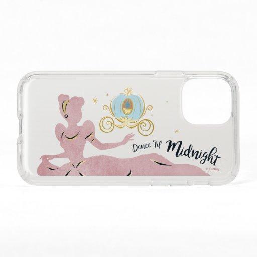"Cinderella Silhouette ""Dance 'Til Midnight"" Speck iPhone 11 Pro Case"