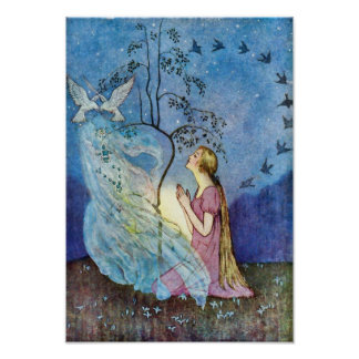 Cinderella Silver and Gold Poster