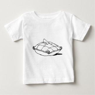 Cinderella Slipper Vintage Fairytale Art Baby T-Shirt