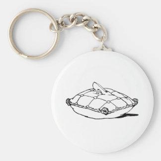 Cinderella Slipper Vintage Fairytale Art Basic Round Button Keychain