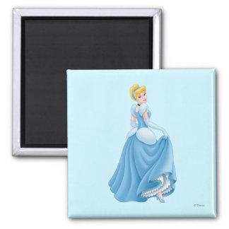 Cinderella Standing Fridge Magnet
