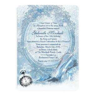 Cinderella Sweet 16 Invitations Zazzle