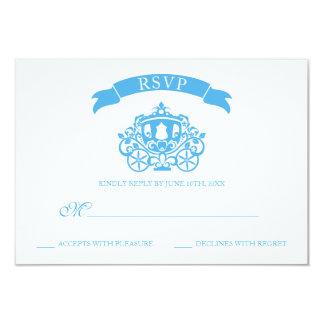 Cinderella Wedding | Carriage RSVP Card