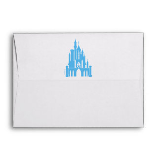 Cinderella Wedding | Castle Envelope