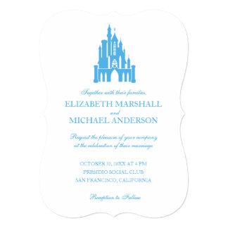cinderella wedding castle invitation - Cinderella Wedding Invitations