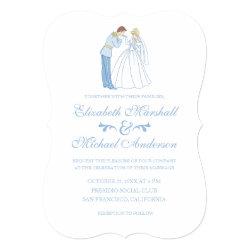 Cinderella Wedding   Classic Card