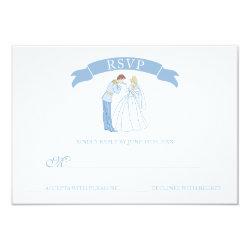 Cinderella Wedding   Classic RSVP Card