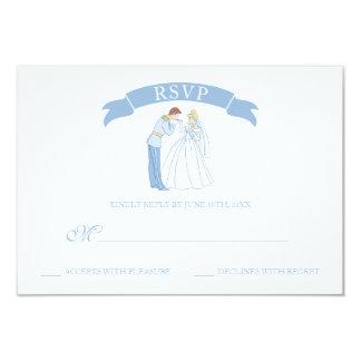 Cinderella Wedding | Classic RSVP Card