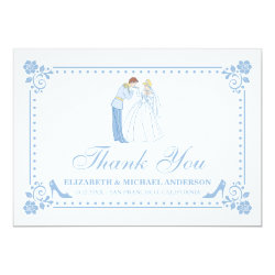 Cinderella Wedding | Classic Thank You Card