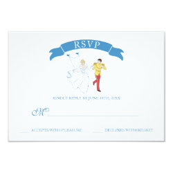 Cinderella Wedding | RSVP Card