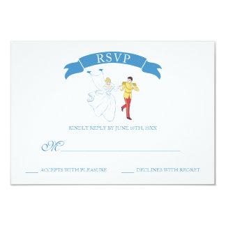 Cinderella Wedding   RSVP Card