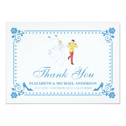Cinderella Wedding | Thank You Card