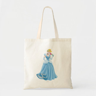Cinderella with Flower Tote Bag