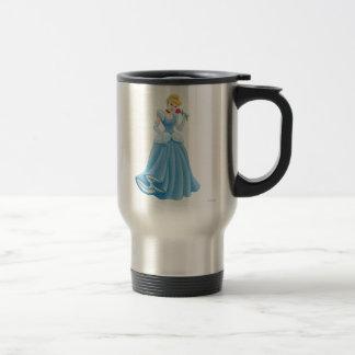 Cinderella with Flower Travel Mug