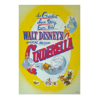 Cinderella Yellow Poster