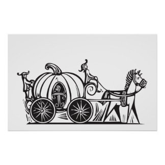 Cinderella's Carriage Poster
