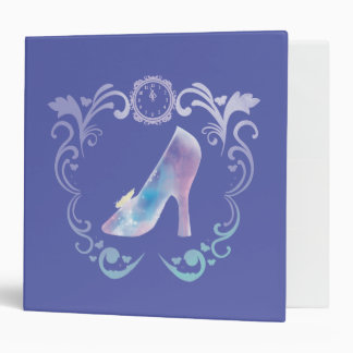 Cinderella's Glass Slipper 3 Ring Binder