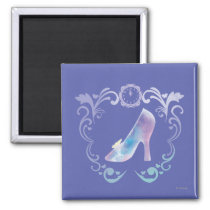 Cinderella's Glass Slipper Magnet