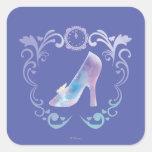 Cinderella's Glass Slipper Square Sticker