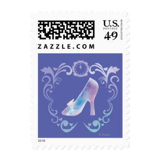 Cinderella's Glass Slipper Stamps