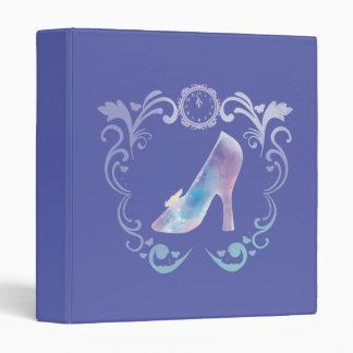 Cinderella's Glass Slipper Vinyl Binders