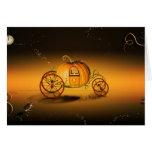 Cinderella's Pumpkin Greeting Cards