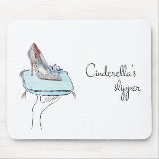 Cinderella's slipper mouse pad