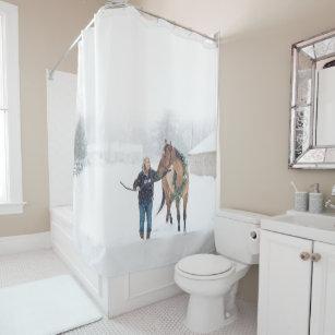 Cindy And Irish Shower Curtain