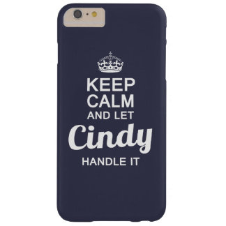 Cindy handle it ! barely there iPhone 6 plus case
