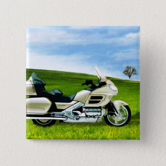 Cindy Johnson Motorcycle Pinback Button