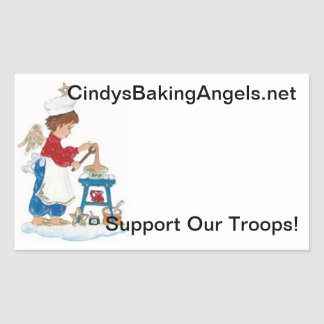 Cindy s Baking Angels Goodie Box Stickers