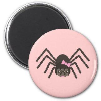 Cindy the Spider 2 Inch Round Magnet