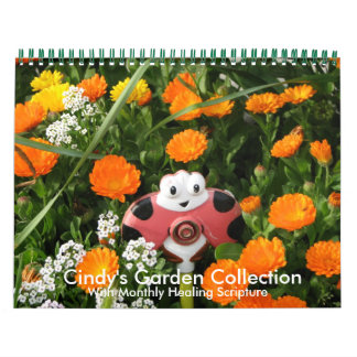 Cindy's Garden Calendar w/Healing Scriptures